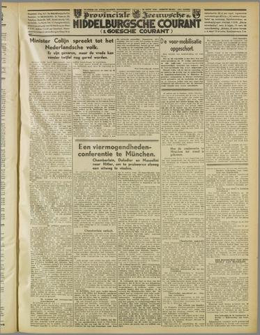 Middelburgsche Courant 1938-09-29
