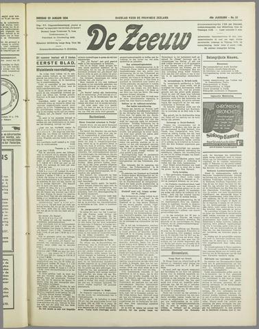 De Zeeuw. Christelijk-historisch nieuwsblad voor Zeeland 1934-01-23