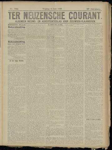Ter Neuzensche Courant. Algemeen Nieuws- en Advertentieblad voor Zeeuwsch-Vlaanderen / Neuzensche Courant ... (idem) / (Algemeen) nieuws en advertentieblad voor Zeeuwsch-Vlaanderen 1923-06-08