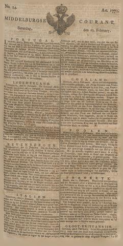 Middelburgsche Courant 1771-02-23