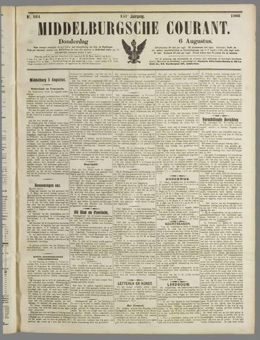 Middelburgsche Courant 1908-08-06