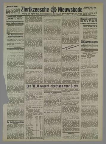 Zierikzeesche Nieuwsbode 1933-04-28