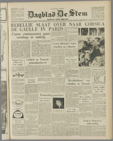 de Stem 1958-05-27