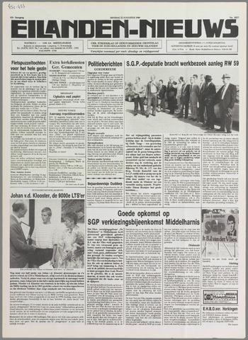 Eilanden-nieuws. Christelijk streekblad op gereformeerde grondslag 1989-08-22