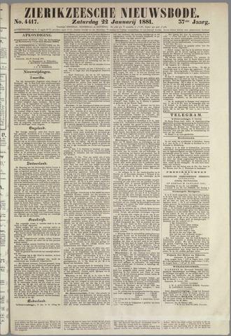 Zierikzeesche Nieuwsbode 1881-01-22