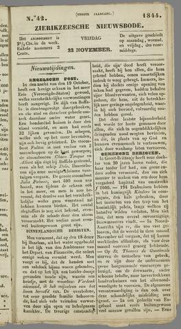 Zierikzeesche Nieuwsbode 1844-11-22