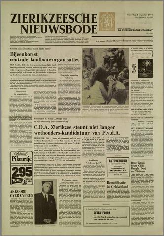 Zierikzeesche Nieuwsbode 1974-08-01