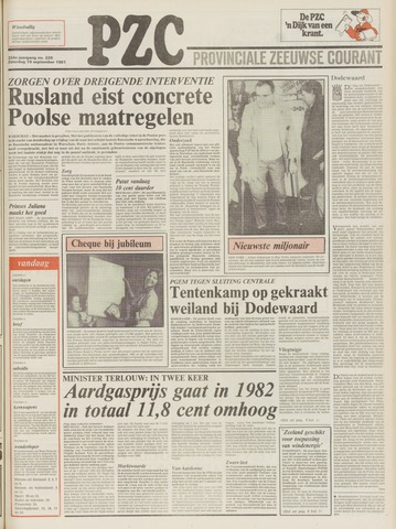 Provinciale Zeeuwse Courant 1981-09-19