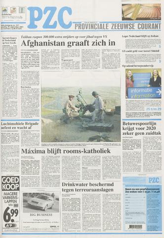 Provinciale Zeeuwse Courant 2001-09-25