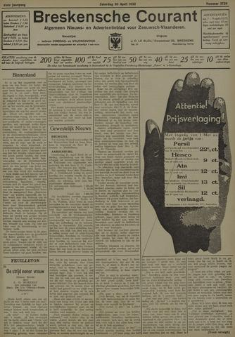 Breskensche Courant 1932-04-30