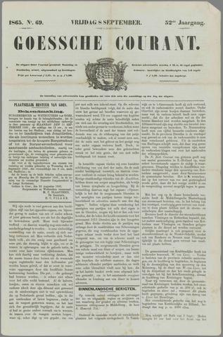 Goessche Courant 1865-09-08