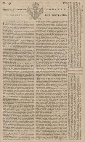 Middelburgsche Courant 1785-11-01
