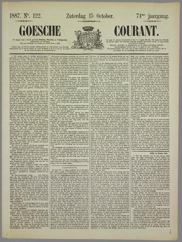 Goessche Courant 1887-10-15