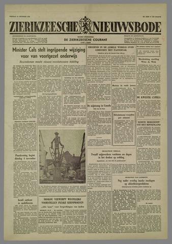 Zierikzeesche Nieuwsbode 1958-10-31