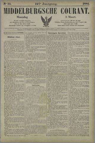 Middelburgsche Courant 1884-03-03