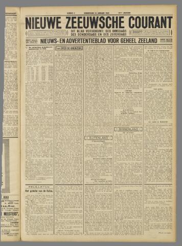 Nieuwe Zeeuwsche Courant 1932-01-14