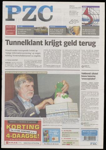 Provinciale Zeeuwse Courant 2013-09-20