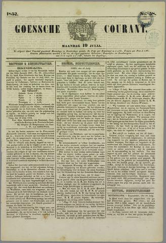 Goessche Courant 1852-07-19