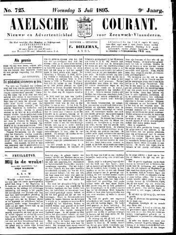 Axelsche Courant 1893-07-05