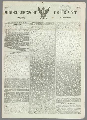 Middelburgsche Courant 1862-12-09