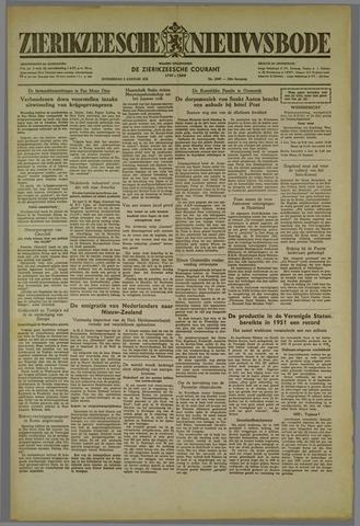 Zierikzeesche Nieuwsbode 1952-01-03