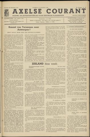 Axelsche Courant 1959-08-22