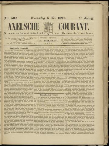 Axelsche Courant 1891-05-06