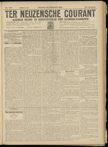 Ter Neuzensche Courant. Algemeen Nieuws- en Advertentieblad voor Zeeuwsch-Vlaanderen / Neuzensche Courant ... (idem) / (Algemeen) nieuws en advertentieblad voor Zeeuwsch-Vlaanderen 1934-02-23
