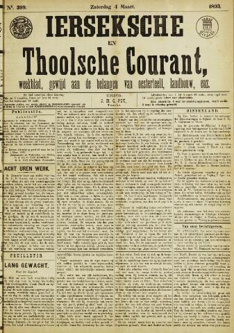 Ierseksche en Thoolsche Courant 1893-03-04