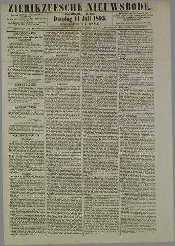 Zierikzeesche Nieuwsbode 1893-07-11