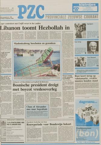 Provinciale Zeeuwse Courant 1993-08-03