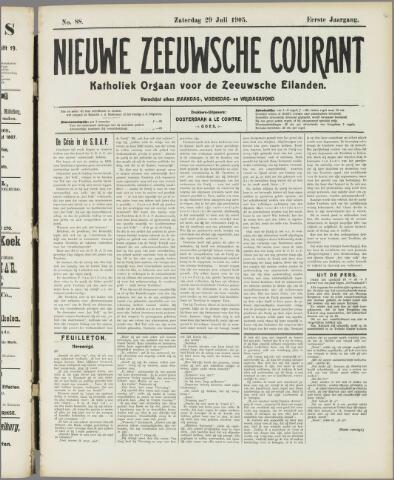 Nieuwe Zeeuwsche Courant 1905-07-29