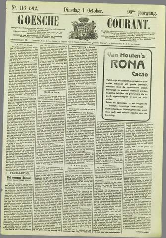Goessche Courant 1912-10-01