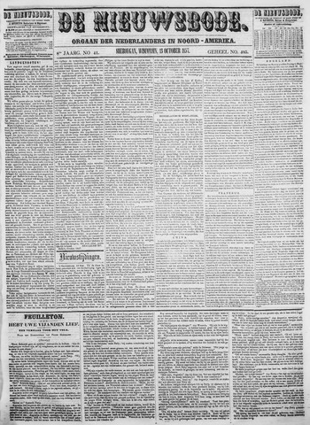 Sheboygan Nieuwsbode 1857-10-13
