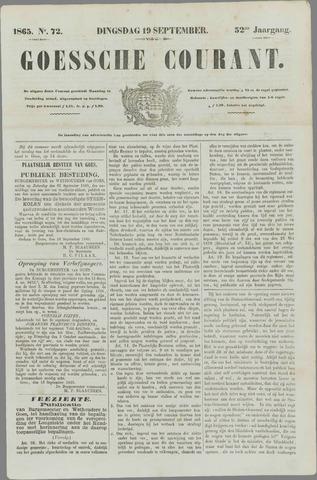 Goessche Courant 1865-09-19