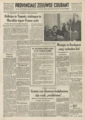 Provinciale Zeeuwse Courant 1956-10-24