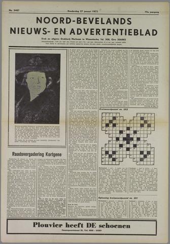 Noord-Bevelands Nieuws- en advertentieblad 1972-01-27