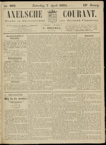 Axelsche Courant 1894-04-07
