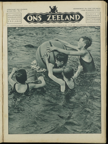 Ons Zeeland / Zeeuwsche editie 1934-06-29