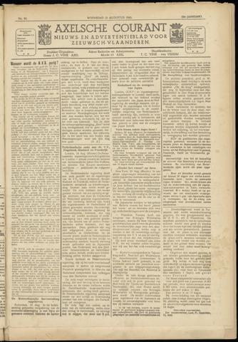 Axelsche Courant 1945-08-22