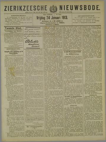 Zierikzeesche Nieuwsbode 1913-01-24