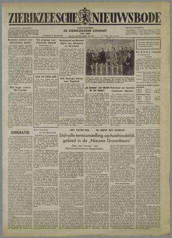 Zierikzeesche Nieuwsbode 1954-03-13