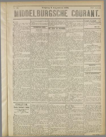 Middelburgsche Courant 1922-08-04