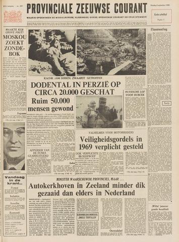 Provinciale Zeeuwse Courant 1968-09-03