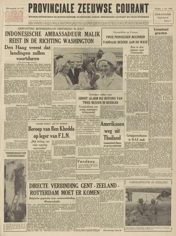 Provinciale Zeeuwse Courant 1962-07-03