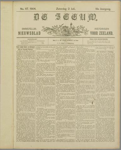 De Zeeuw. Christelijk-historisch nieuwsblad voor Zeeland 1904-07-02