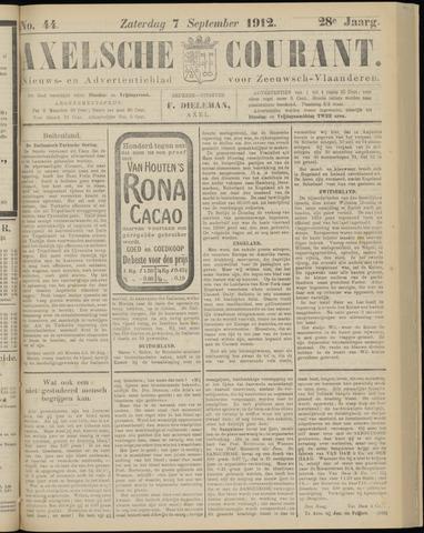 Axelsche Courant 1912-09-07