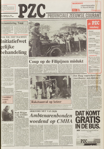 Provinciale Zeeuwse Courant 1987-08-28