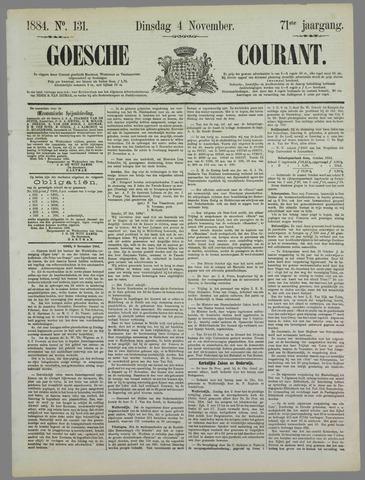 Goessche Courant 1884-11-04