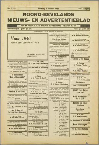 Noord-Bevelands Nieuws- en advertentieblad 1946